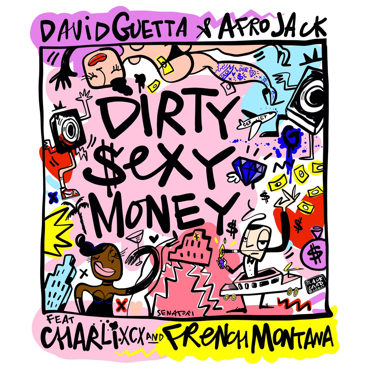 David Guetta & Afrojack - Dirty Sexy Money feat. Charli XCX & French Montana