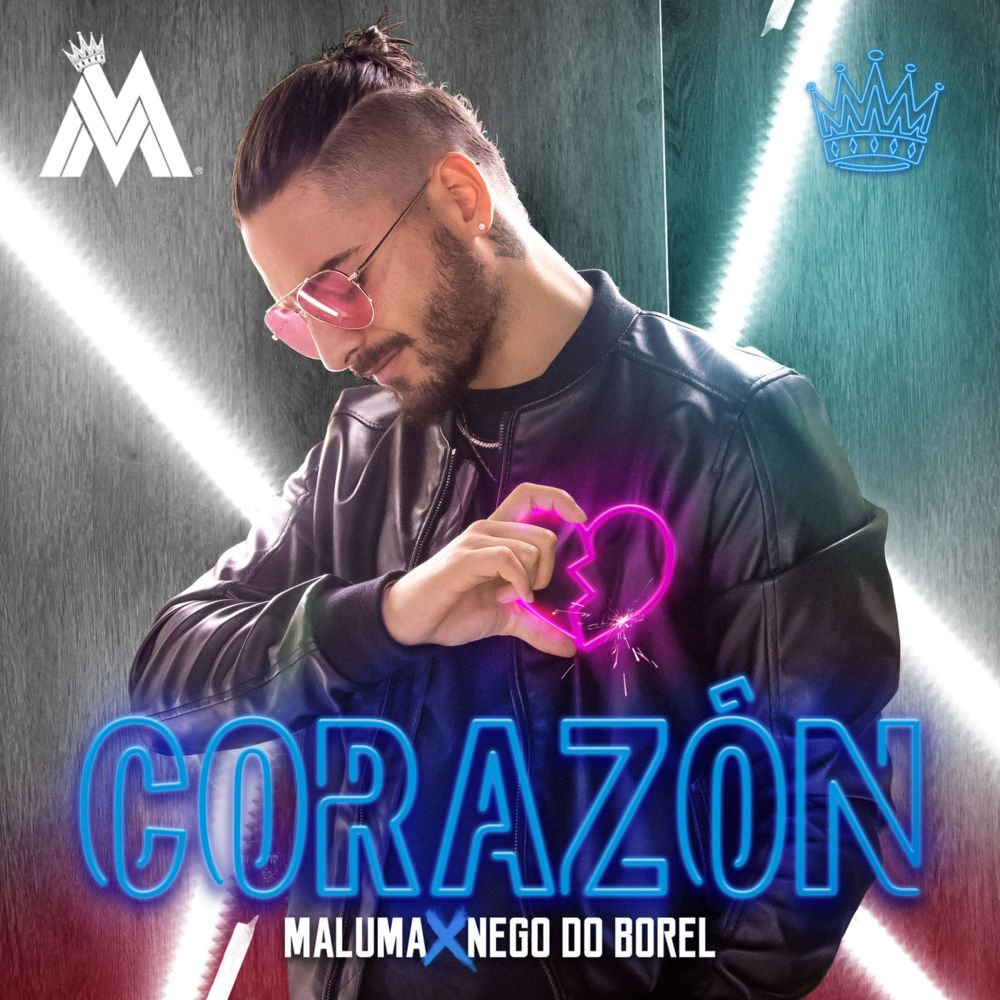 Maluma - Corazón ft. Nego do Borel